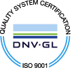 Quality System Certification - ISO 9001 Logo